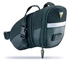 Topeak Aero Wedge Seat Pack TC2471B - Mochila 16 x 8 x 7.5 cm, 0.41 litros, color negro/gris: Amazon.es: Deportes y aire libre