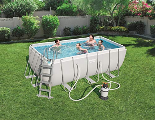 Bestway 56457 - Piscina Desmontable Tubular Power Steel 412x
