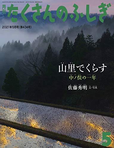 山里でくらす 中ノ俣の一年 (月刊たくさんのふしぎ2021年5月号)
