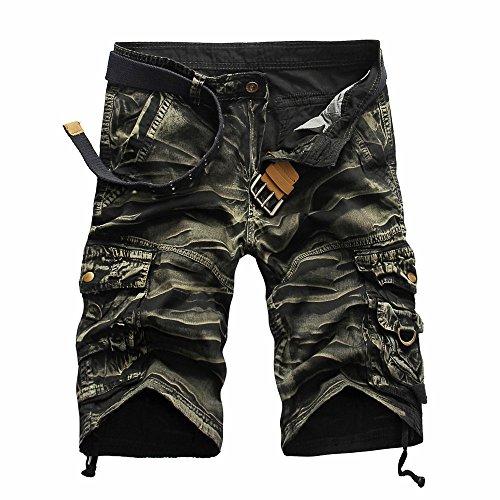 Shorts Sommer Bermuda Herren Cotton Trousers Men Weisse Caprihose Kurze Hose Kurze Jeans Hosen Kurze Jogging Hosen Sweatpants Baggy