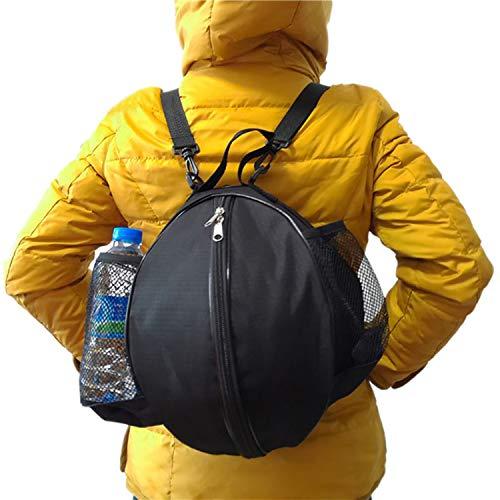 ITODA Basketball Tasche Balltasche Wasserdicht Handballtasche Aufbewahrungstasche für Fußball Volleyball Handball Rucksack Ballsack Tragbar Ballschlauch Umhängetasche Sportrucksack für einen Ball