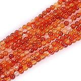 GEM-Inside Red Carnelian Gemstone Loose Beads...