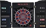Jeu de fléchettes électronique Dartona CB-40 Cabinett– Cible de tournoi avec 27 jeux et plus de 150 variantes possibles.
