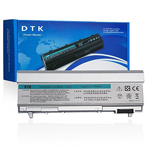 DTK 11.1V 6600mAh 9-Cell Replacement Laptop Battery for Dell Latitude E6400 E6410 E6500 E6510 Precision M2400 M4400 M4500 Notebook
