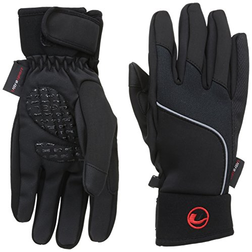 Ultrasport Handschuhe mit Touchscreen Funktion, schwarz, M, 49002