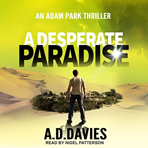 A Desperate Paradise audiobook cover art