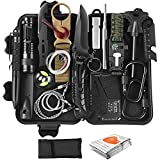 Gifts for Men Dad Husband Boyfriend Fathers Day, Survival Kit 20 in 1, Survival Gear and Equipment Emergency Survival Tools, Christmas Birthday Gift Ideas for Camping Fishing Hunting Hiking