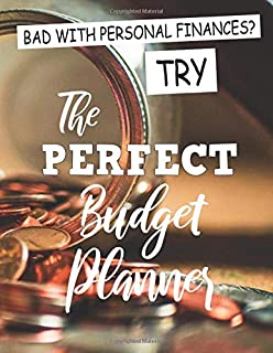 Bad with Personal Finances? Try the Perfect Budget Planner: 2020 Calendar and Income & Expense Tracker, Monthly Saving Ana...