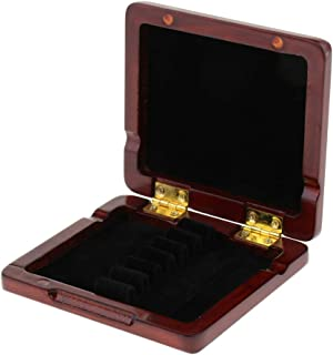 D DOLITY 6x Reeds Storage Case for Oboe Bassoon Reed Wind Woodwind Instruments Parts - Red