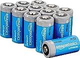 AmazonBasics Lithium CR123a 3 Volt Batteries - Pack of 12