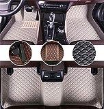 Muchkey Alfombrillas Coche para Chevrolet Aveo Spark Vveo Cruze Malibu Trax Orlando Captiva Volt Sonic Personalizadas Alfombras Tapete Gris