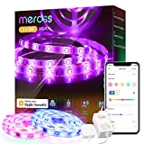WLAN LED Streifen funktioniert mit Apple HomeKit, meross Smart RGB Strip, 12V IP20...