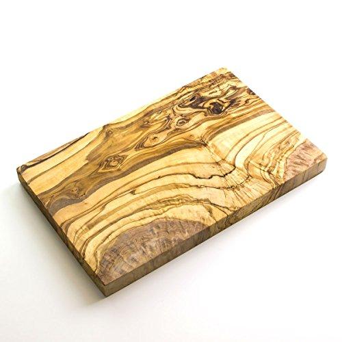 Planche à fromage/à découper en bois d'olivier