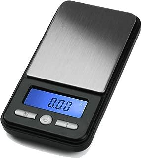 American Weigh Scale AC Series Digital Pocket Weight Scale, Black, 650G X 0.01G (AC-650-BLK)