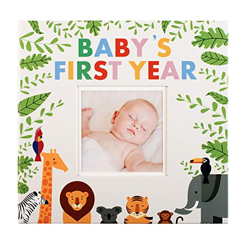 Baby Memory Book Baby Journal | First Year Photo Album | Up to The First 5 Years | Perfect for Boys and Girls | Achievements, Memories, Milestones | Baby Shower Present