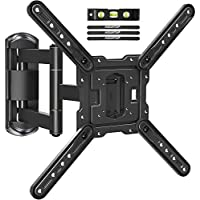 Mountup Full Motion TV Wall Mount TV Bracket with Swivel and Extend 17.7 Inch for Most 26-55 Inches TVs
