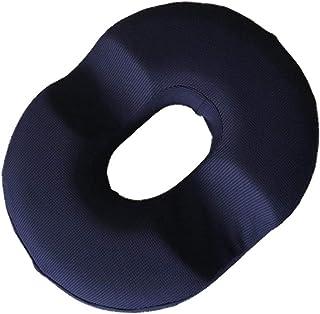 Sahgsa Donut Cojín de Asiento Almohada de Espuma viscoelástica Alivio del Dolor para hemorroides Super Comfort Anillo Redondo Cojín de Tope Ayuda a aliviar el Dolor