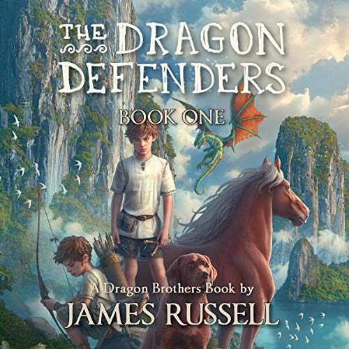 The Dragon Defenders, Book One cover art