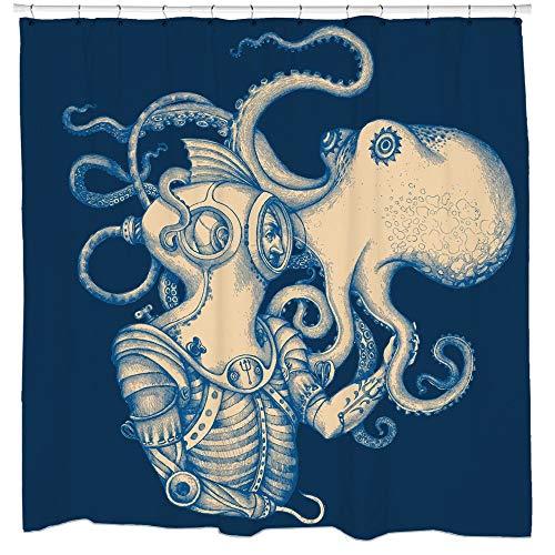 Sharp Shirter Deep Sea Discovery Duschvorhang