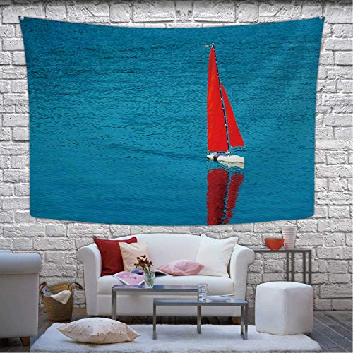 NortonHIC Radio Remote Control Rc Sailing Yacht Boat Simulation Model Tapestry,044513 Wall Hanging for Room, 80x60(in)