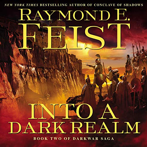 Into a Dark Realm audiobook cover art