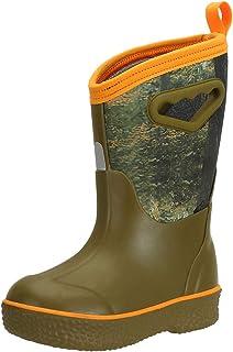 MCIKCC Youth rain Boots, Toddler Raining Boots Waterproof Garden for Kids Boys Girls