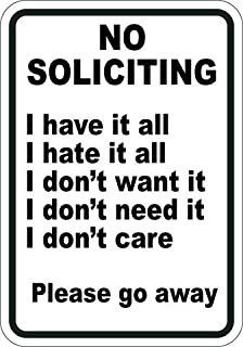 Best no soliciting sign home depot Reviews