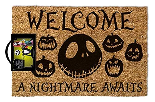 The Nightmare Before Christmas - Doormat A Nightmare Awaits
