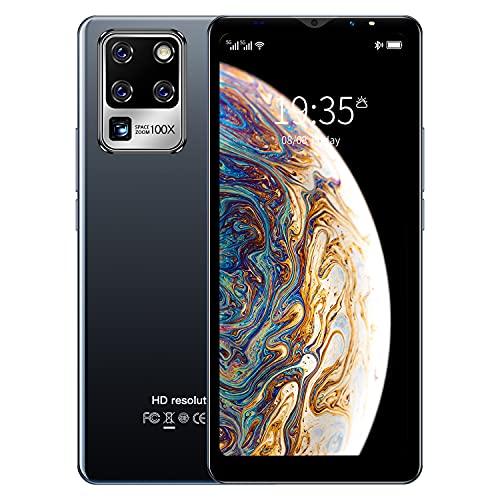 3G Cellulari e Smartphone, 5.5 inch IPS Display, Android OS, 4GB ROM/32GB Espandibili, Batteria 2800mAh, Dual SIM Doppia Fotocamera Telefono Cellulare in Offerta GPS WIFI Bluetooth (S30U-Black)