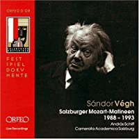 Salzburger Mozart Matineen 1988-1993