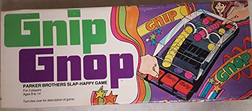 Gnip Gnop Game 1971 Parker Brothers Slap-Happy Game