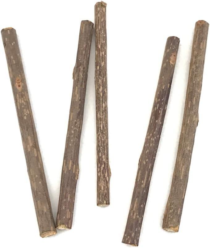HUABAI 15PCS Natural Chew Silvervine Catnip Sti for Sticks Cats Store Soldering