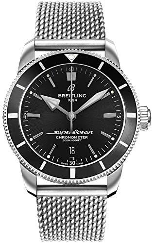 Breitling Superocean Heritage II B20 Automatik 44 schwarzes Zifferblatt Herren-Armbanduhr AB2030121B1A1