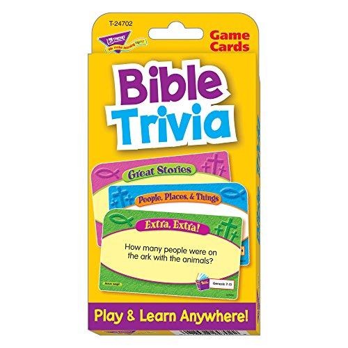 Trend Enterprises Bible Trivia Flash Cards
