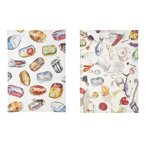 Coucke Torchon, Multicolore, 50 x 75 cm