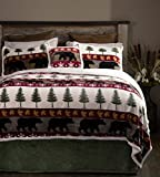 Carstens Tall Pine 5 Piece Bedding Set, King