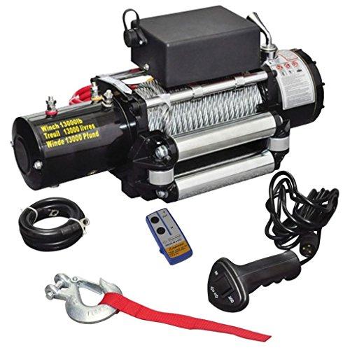 VidaXL 210022argano elettrico 12V