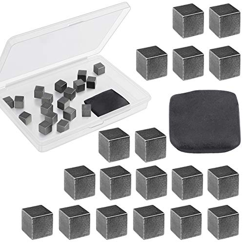 Ruisita 3.5 Ounces 19 Pieces Tungsten Weight Cubes Tungsten Putty Weights Kit Car Incremental...