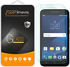 (2 Pack) Supershieldz for Alcatel IdealXCITE and Alcatel Raven LTE Tempered Glass Screen Protector, Anti Scratch, Bubble Free
