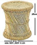 Brightway Collection Natural Mudda Bamboo Stool
