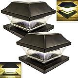 Best Solar Deck Post Lights - Sogrand Solar Post Cap Lights Outdoor Super Bright Review