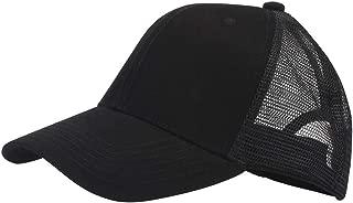 Bestum Classic Mesh Hat Women Men for Outdoor Sports Baseball Cap Adjustable Velcro