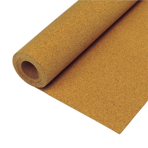 QEP 72003Q 1/4-Inch, 6mm, 4-Foot x 25-Foot Cork Underlayment