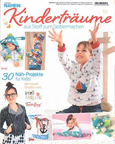 Schnittmusterheft Kinderträume Ausgabe 2017 Nr. SN 022