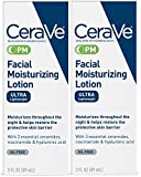 CeraVe Day & Night Face Lotion Skin Care Set | Contains CeraVe AM Face...