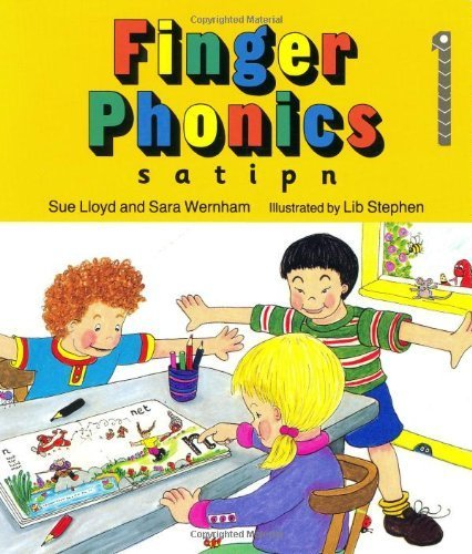Finger Phonics Book 1: s, a, t, i, p, n (Jolly Phonics) by Lloyd, Susan M., Wernham, Sara Brdbk Edition (1994)