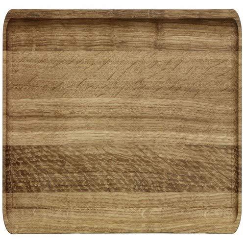 Iittala Vitriini Servierplaten/Tabletts, Holz, Eiche, 37.8 x 13.3 x 1.5 cm