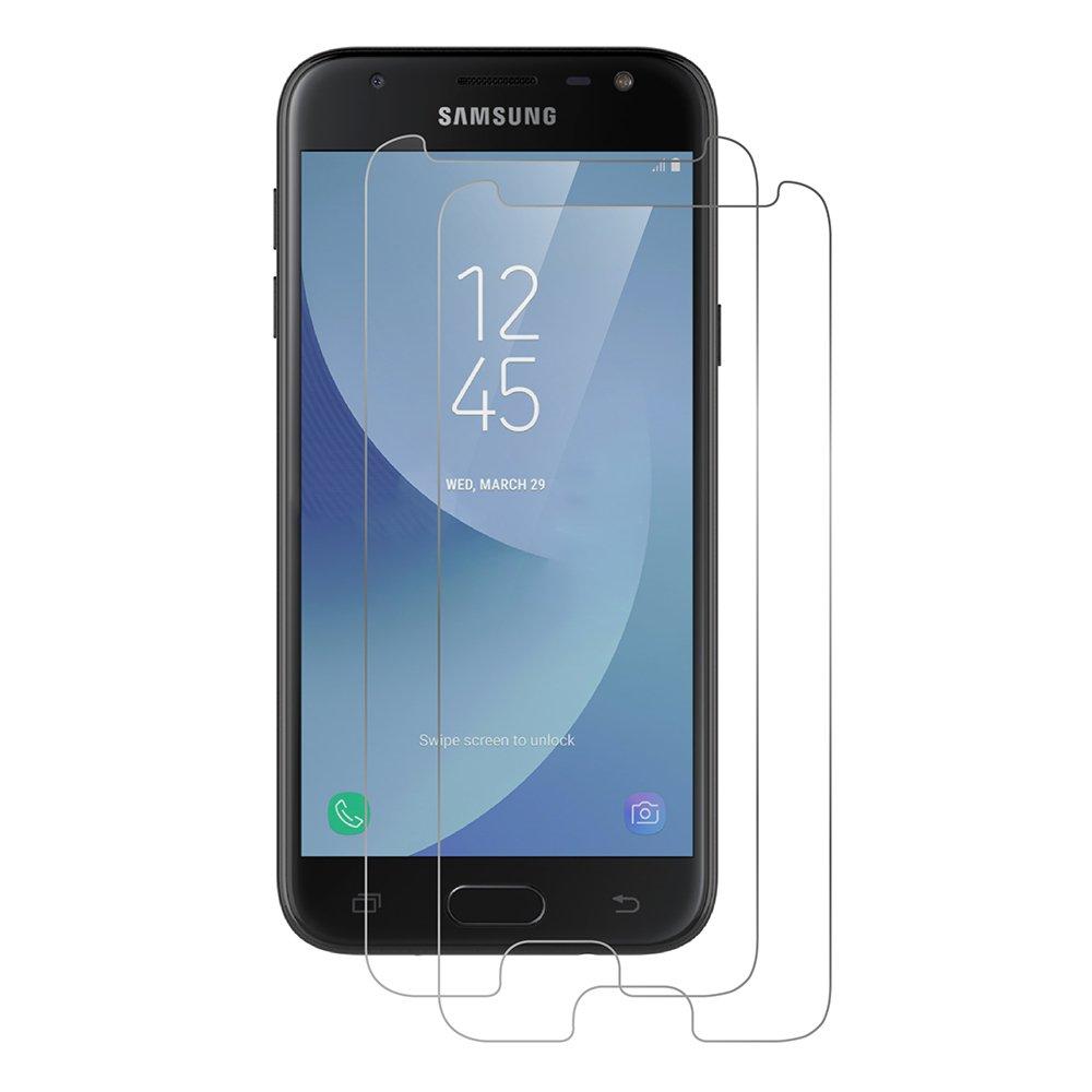 AICEK [2-Pack] Protector de Pantalla Samsung Galaxy J3 2017, Cristal Templado para Samsung J3 2017 Vidrio Templado Galaxy J3 2017 Cristal Screen Protector: Amazon.es: Electrónica
