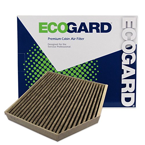 ECOGARD XC10179C Premium Cabin Air Filter with Activated Carbon Odor Eliminator Fits Audi A6 Quattro 2012-2018, A7 Quattro 2012-2018, A8 Quattro 2011-2018, A6 2012-2018, S6 2013-2018, S7 2013-2018
