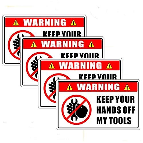 toolbox warning decals - 1